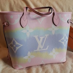 Escale Louis Vuitton Neverfull MM Pastel Pink
